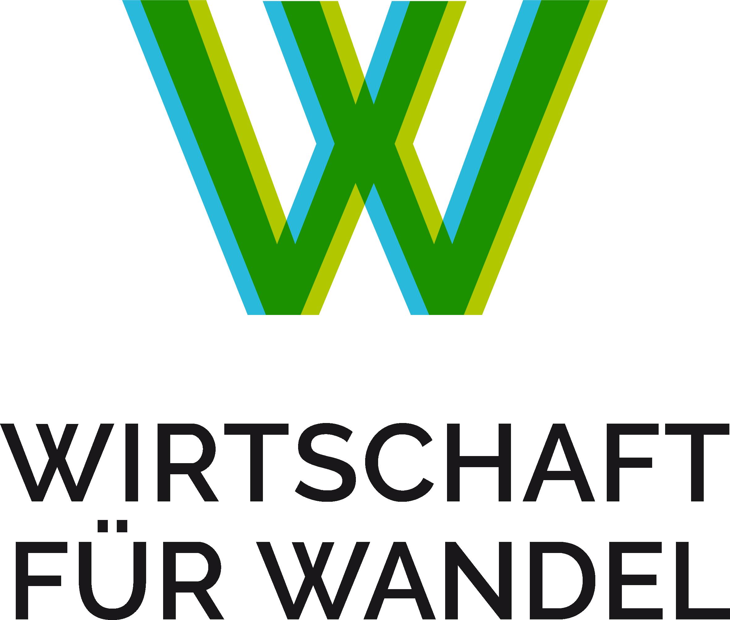 Logo Wirtschaft für Wandel in RGB